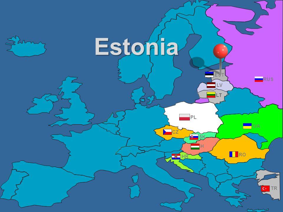 RUS UA PL RO TR CZ HR H LV LT SK EST Estonia