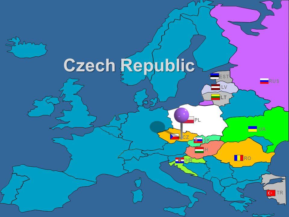 RUS UA PL EST RO TR CZ HR H LV LT SK Czech Republic