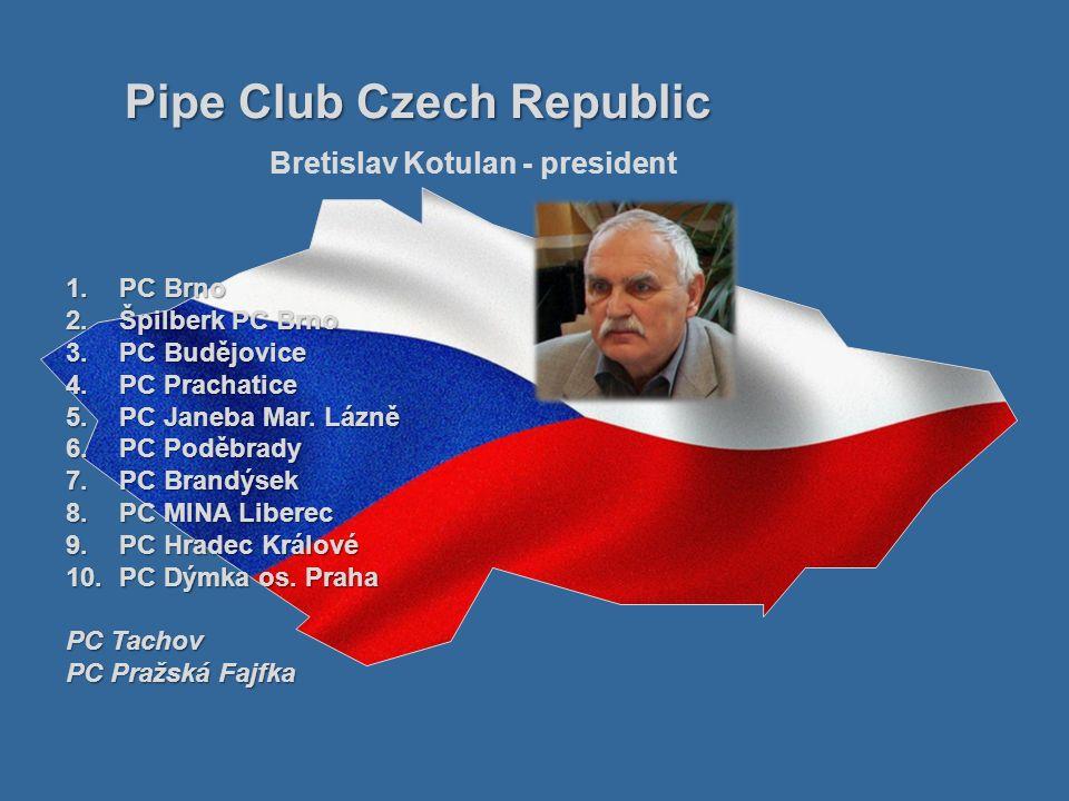 1.PC Filharmonie Brno 2.PC Moravia 3.PC Dixie Bruntál 4.