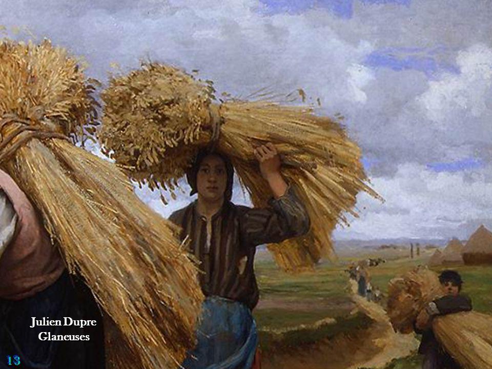 Georges Laugee A l'approche du grain