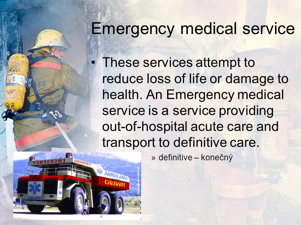 Managing an emergency There are many protocols which the emergency services use in dealing with an emergency, which usually start with planning before an emergency occurs.