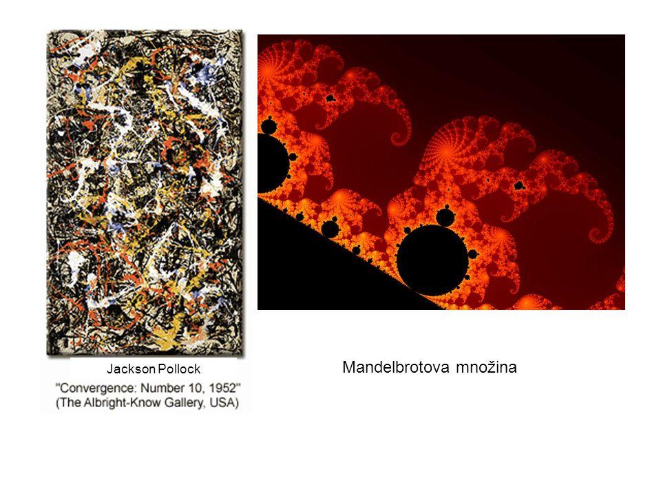 Mandelbrotova množina Jackson Pollock