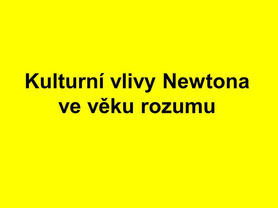 Kulturní vlivy Newtona ve věku rozumu