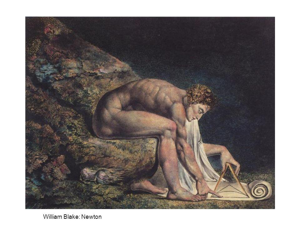 Romantická reakce John Keats (1795-1821): Newton podřízl krk poezii –William Blake (1757-1827): –Věda je ďábel, jehož velekněžími jsou Newton a Locke