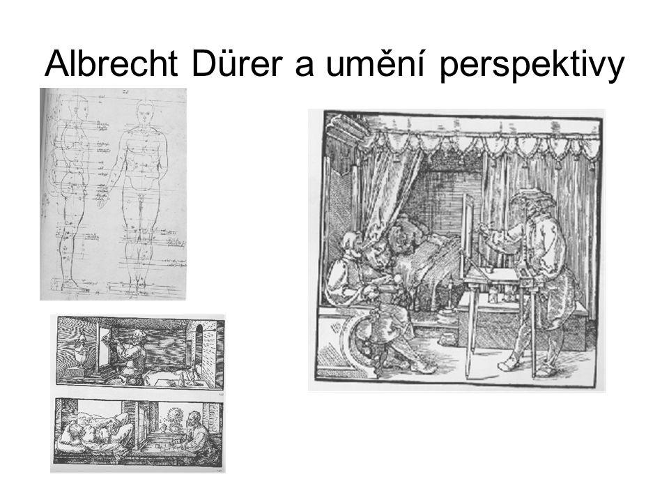 Albrecht Dürer a umění perspektivy