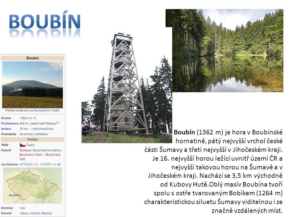 Plechý je 1378 m vysoká hora ležící v pohoří Šumava na česko−rakouské hranici.