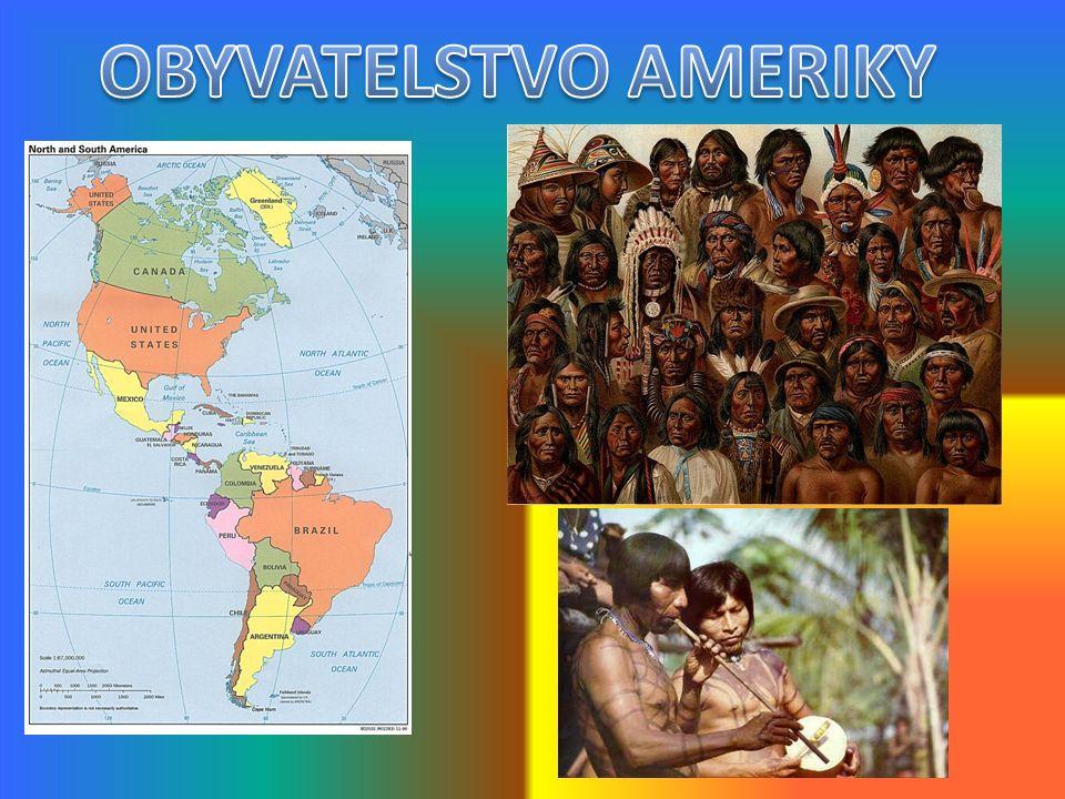Amerika se skládá ze tří patrných částí - Severní Ameriky, Střední Ameriky a Jižní Ameriky.