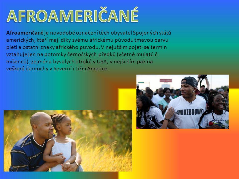 Afroameričané je novodobé označení těch obyvatel Spojených států amerických, kteří mají díky svému africkému původu tmavou barvu pleti a ostatní znaky