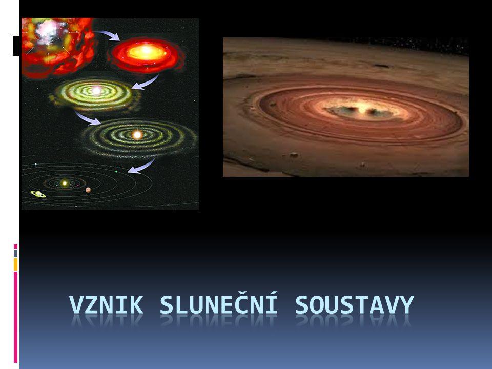  Před 4,6 miliardami let se začaly ve Sluneční soustavě formovat první planety.