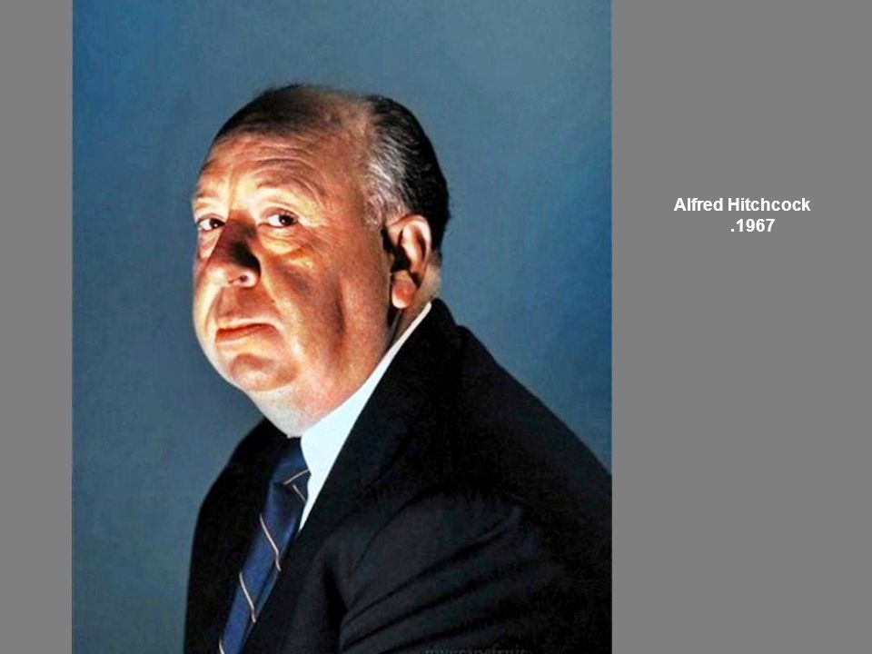 Alfred Hitchcock 1967.