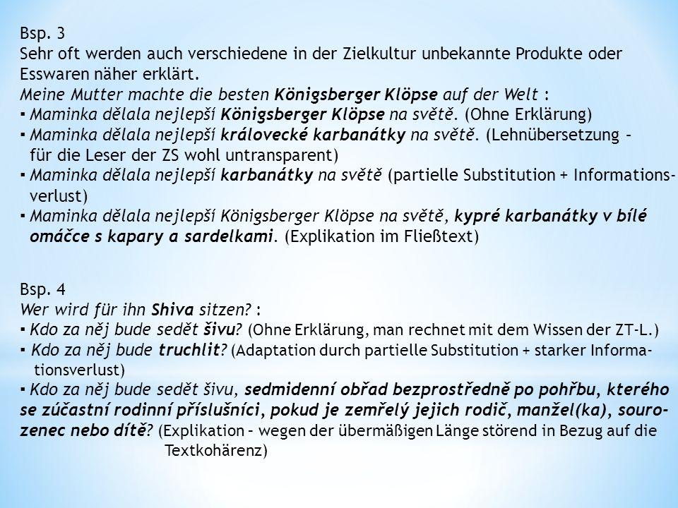 III.Adaptation durch Substitution Was wird bei der A.