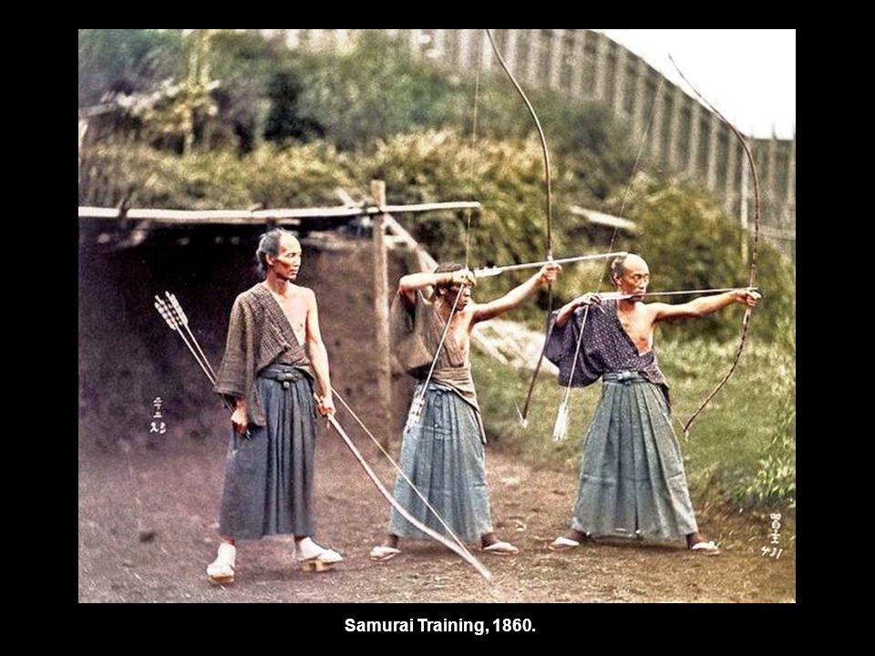 Samurai Training, 1860.
