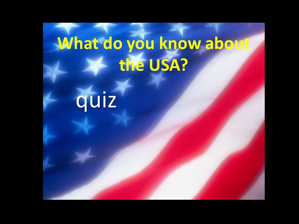 Question 1 The United States of America is in… The United States of America is in… A - Asia B - Europe C – North America D – South America