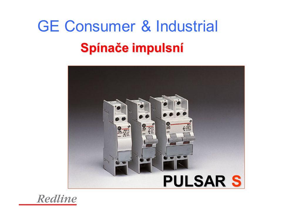 GE Consumer & Industrial Spínače impulsní PULSAR S