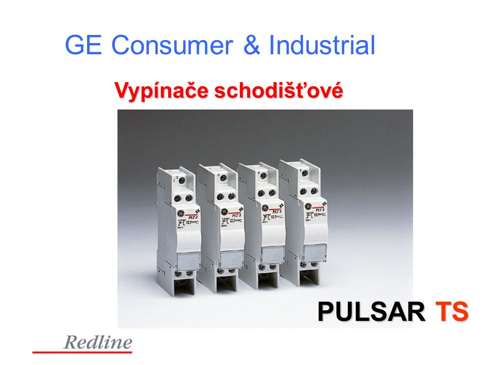 GE Consumer & Industrial Vypínače schodišťové PULSAR TS