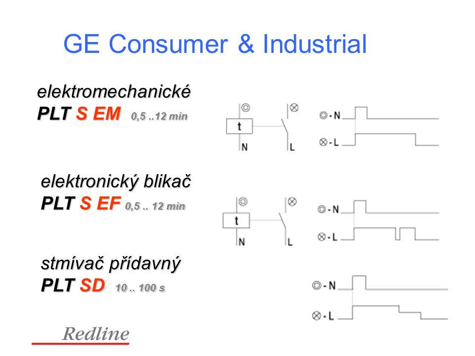 GE Consumer & Industrial elektromechanické PLT S EM 0,5..12 min elektronický blikač PLT S EF 0,5..