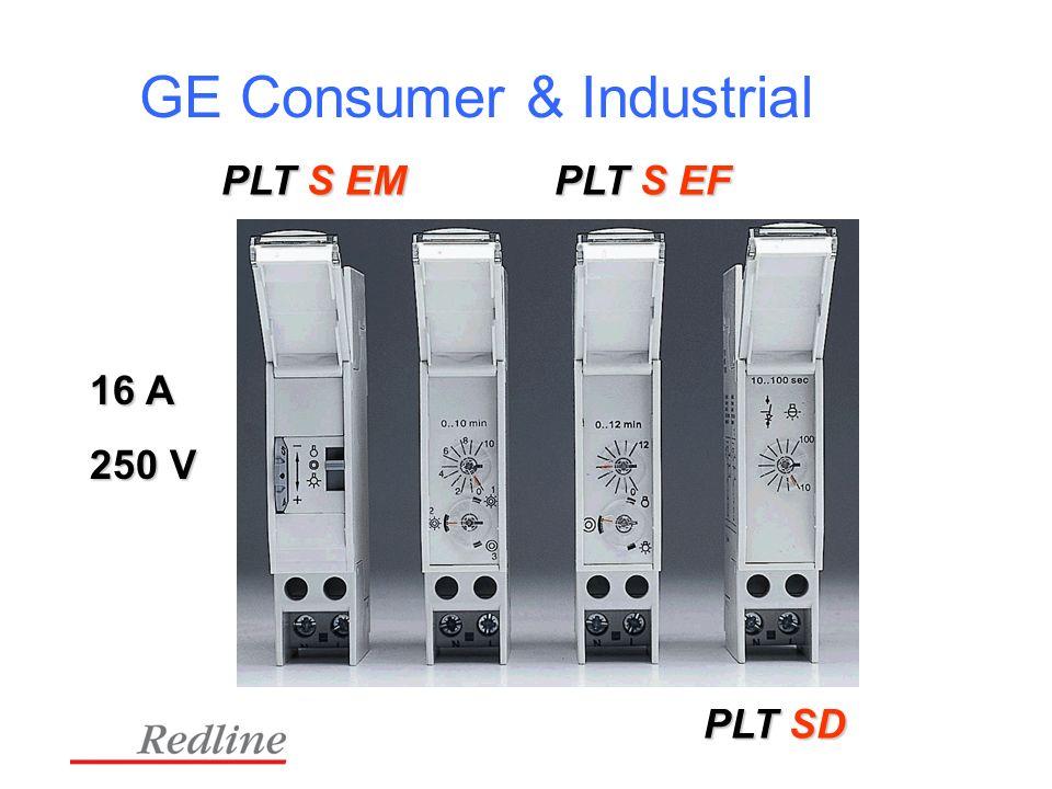 GE Consumer & Industrial 16 A 250 V PLT S EM PLT S EF PLT SD
