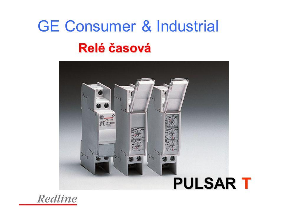 GE Consumer & Industrial PULSAR T Relé časová