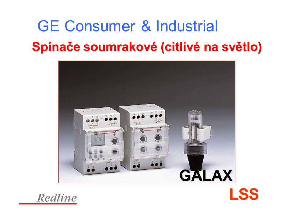 GE Consumer & Industrial Spínače soumrakové (citlivé na světlo) GALAX LSS LSS