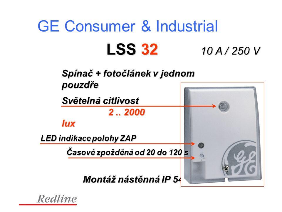 GE Consumer & Industrial LSS 32 Světelná citlivost 2..
