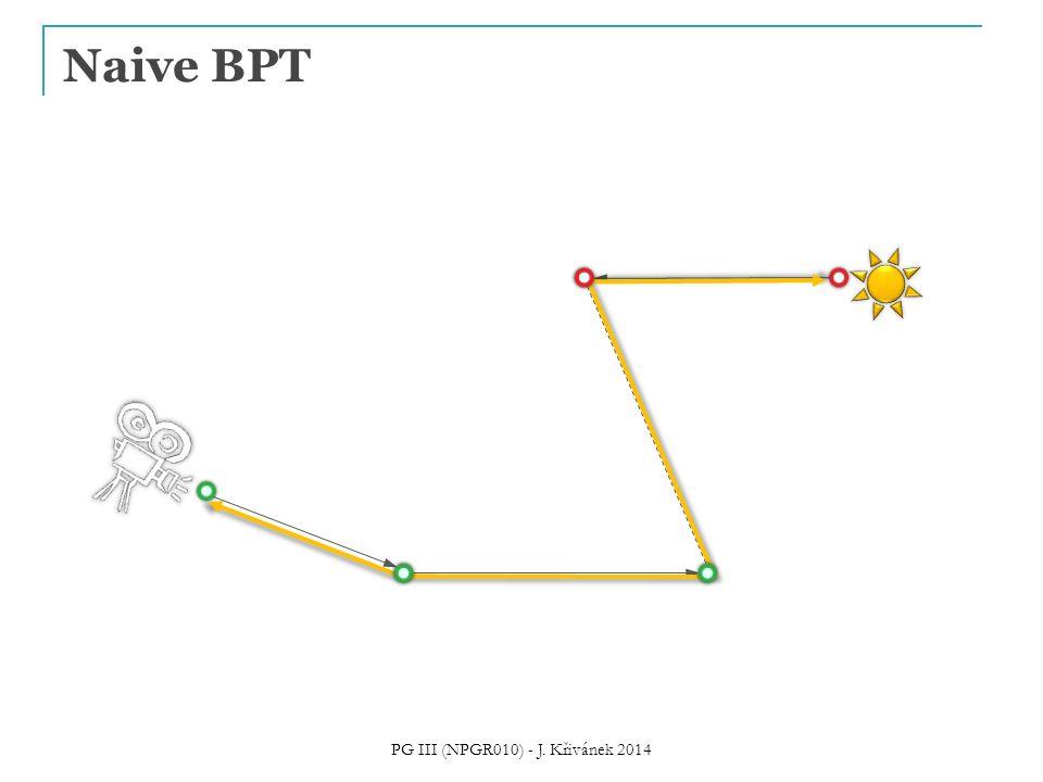 Naive BPT PG III (NPGR010) - J. Křivánek 2014