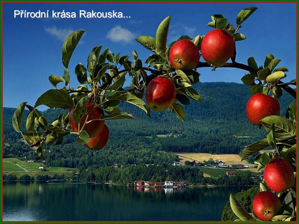 Přírodní krása Rakouska...