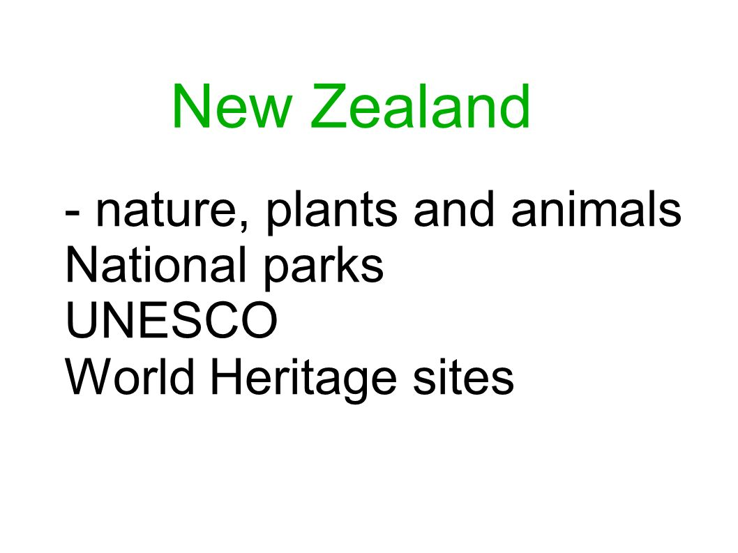 1.Where is New Zealand situated and what does the country look like.
