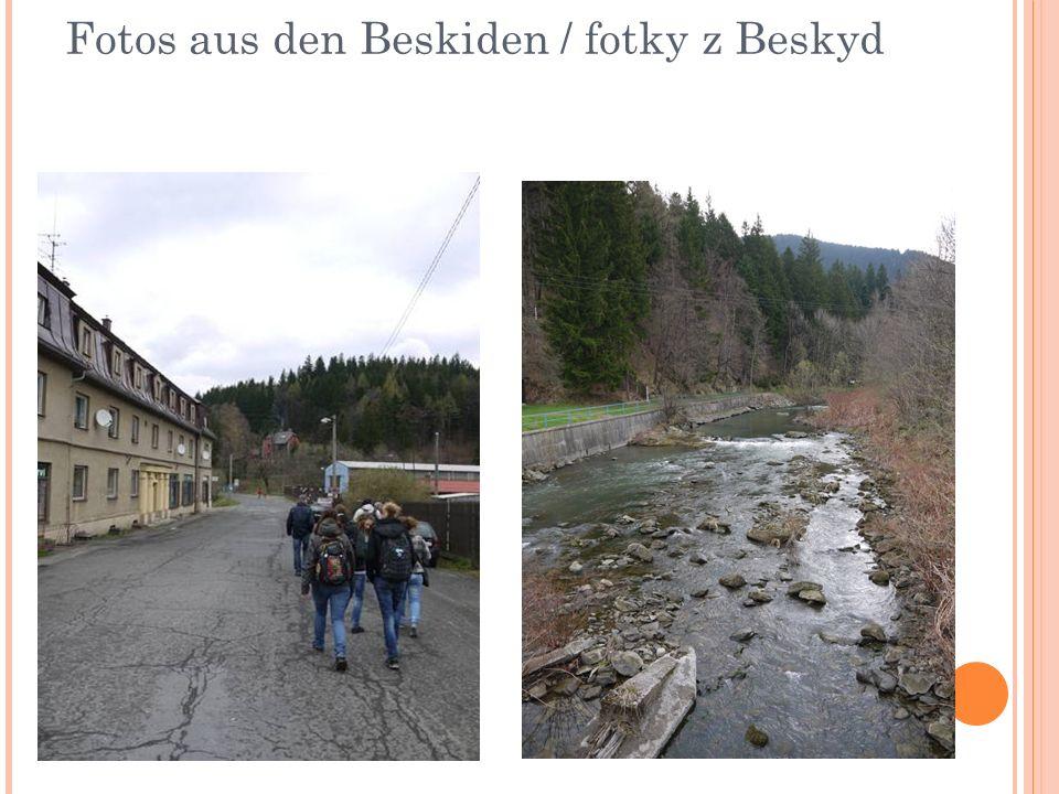 Fotos aus den Beskiden / fotky z Beskyd