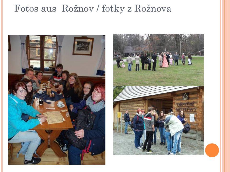 Fotos aus Rožnov / fotky z Rožnova