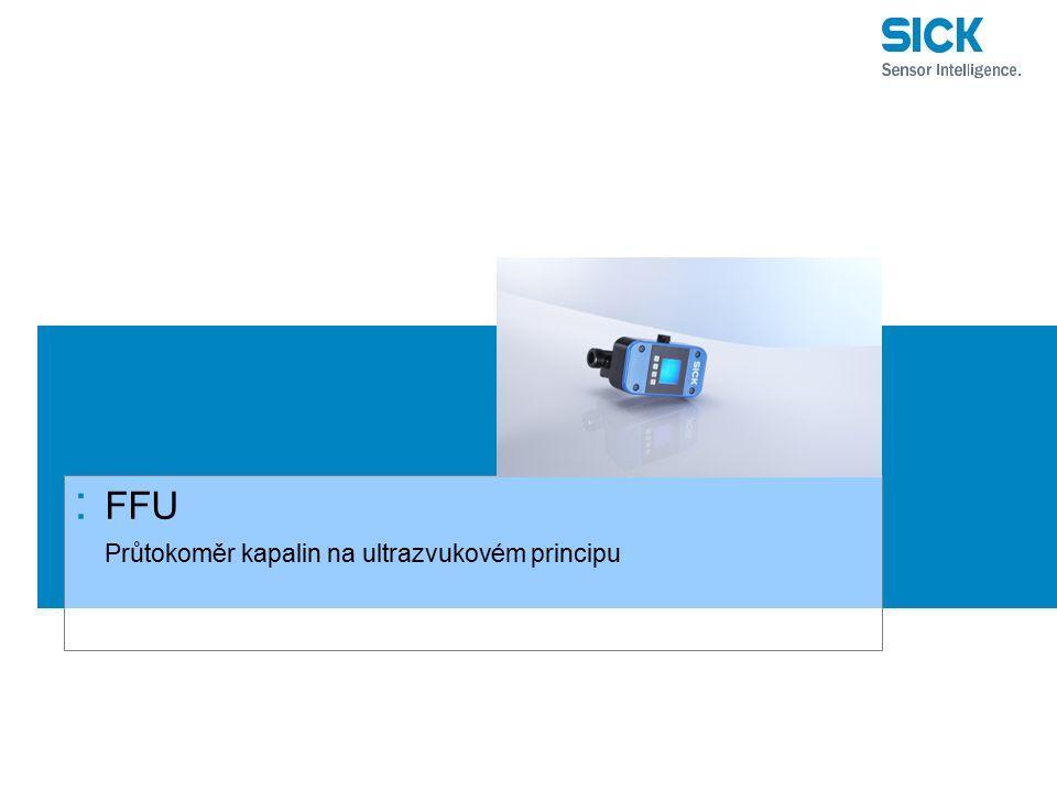 : FFU Průtokoměr kapalin na ultrazvukovém principu