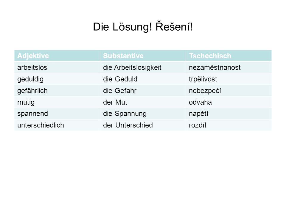 Účelové věty – Finalnebensätze – Übersetzen Sie.