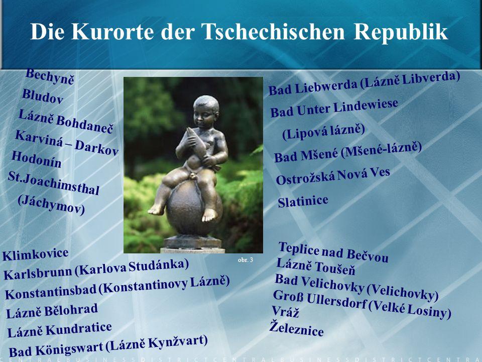 Bechyně Bludov Lázně Bohdaneč Karviná – Darkov Hodonín St.Joachimsthal (Jáchymov) Bad Liebwerda (Lázně Libverda) Bad Unter Lindewiese (Lipová lázně) B