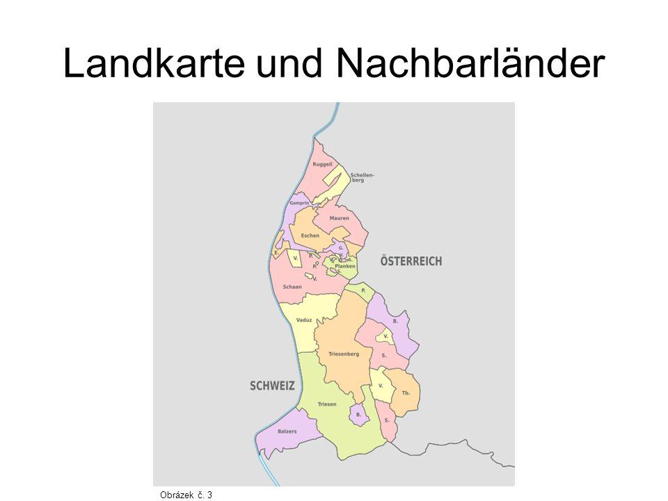 Oberfläche Die Oberfläche Liechtensteins: Liechtenstein wird in zwei Hauptteile gegliedert: 1.