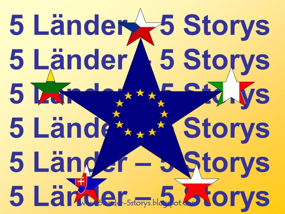 www.5lander-5storys.blogspot.com 5 Länder – 5 Storys