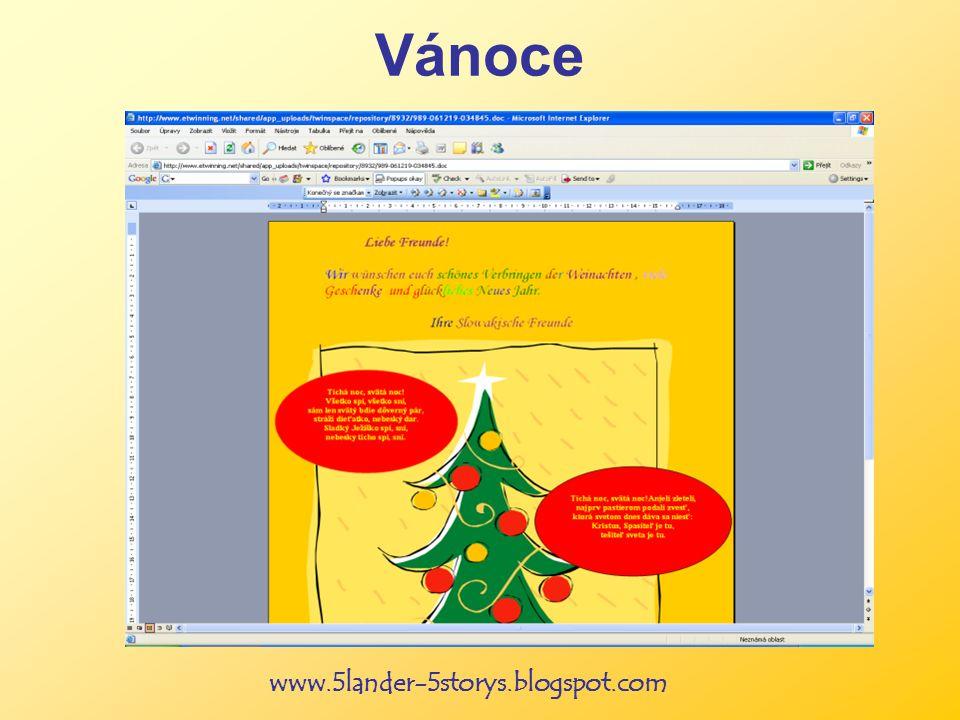 www.5lander-5storys.blogspot.com Vánoce