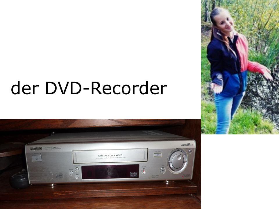 der DVD-Recorder