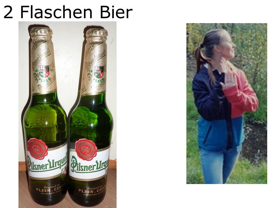 2 Flaschen Bier