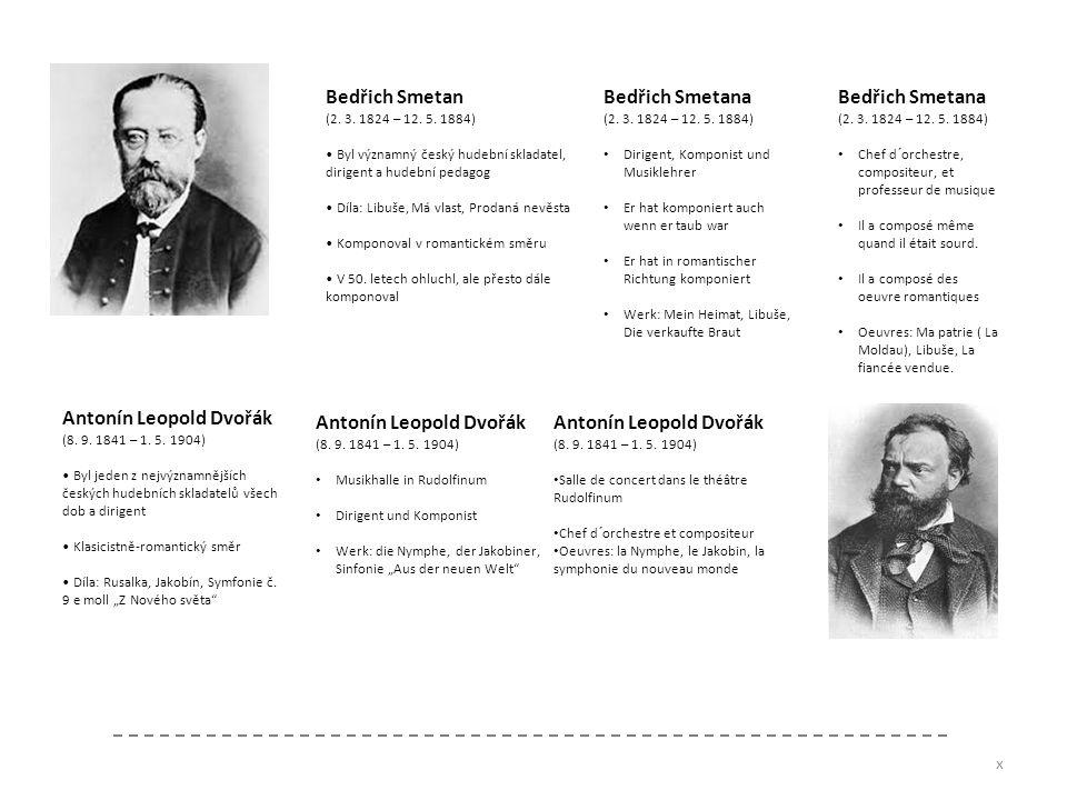 Bedřich Smetan (2. 3. 1824 – 12. 5. 1884) Byl významný český hudební skladatel, dirigent a hudební pedagog Díla: Libuše, Má vlast, Prodaná nevěsta Kom