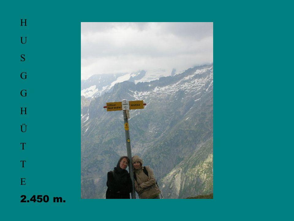 H U S G H Ü T E 2.450 m.