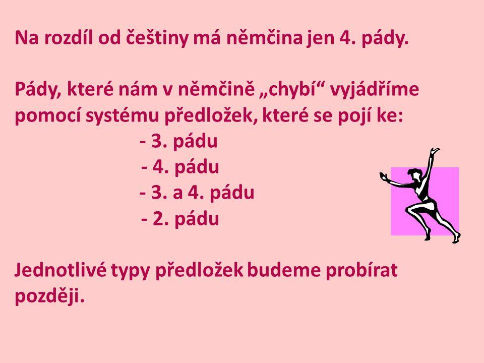 ZÁKLADNÍ POJMY: PODSTATNÉ JMÉNO – SUBSTANTIVUM JEDNOTNÉ ČÍSLO – SINGULÁR (SG) MNOŽNÉ ČÍSLO – PLURÁL (PL) MUŽSKÝ ROD – MASKULINUM (M) ŽENSKÝ ROD – FEMININUM (F) STŘEDNÍ ROD – NEUTRUM (N) 1.
