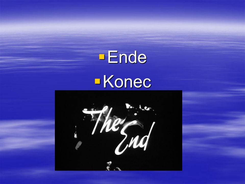 Ende Konec