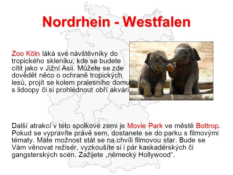 Nordrhein - Westfalen Zoo Köln Zoo Köln láká své návštěvníky do tropického skleníku, kde se budete cítit jako v Jižní Asii.