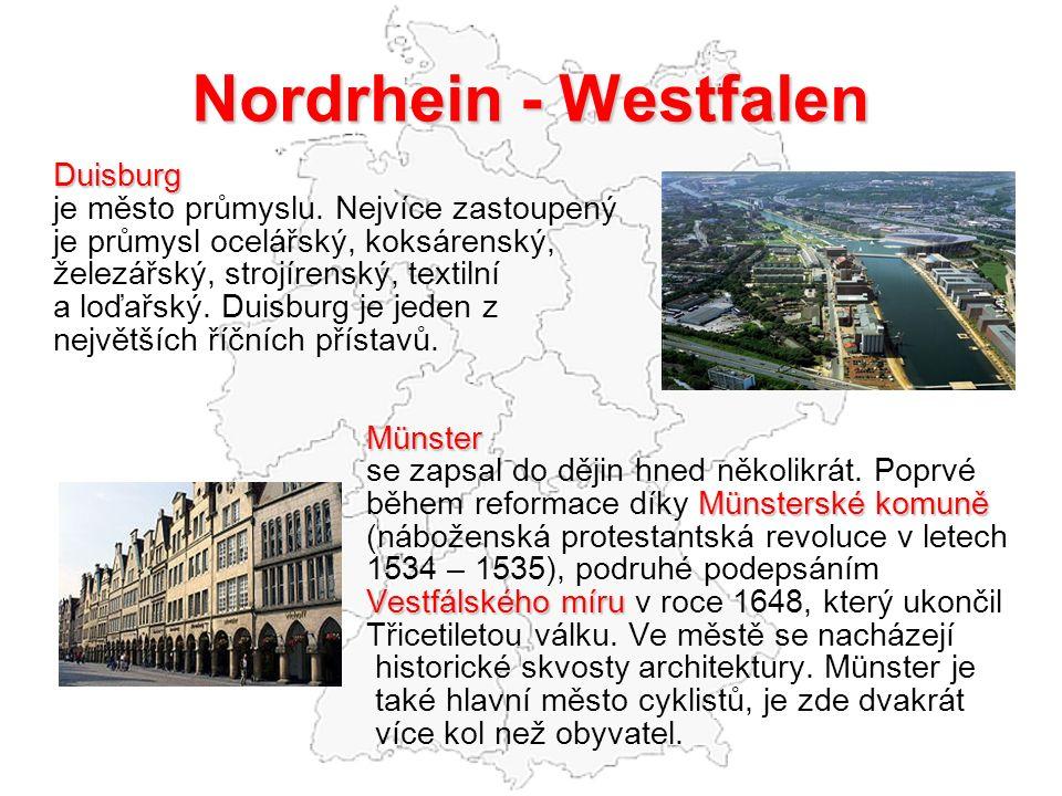 Nordrhein - Westfalen Duisburg je město průmyslu.