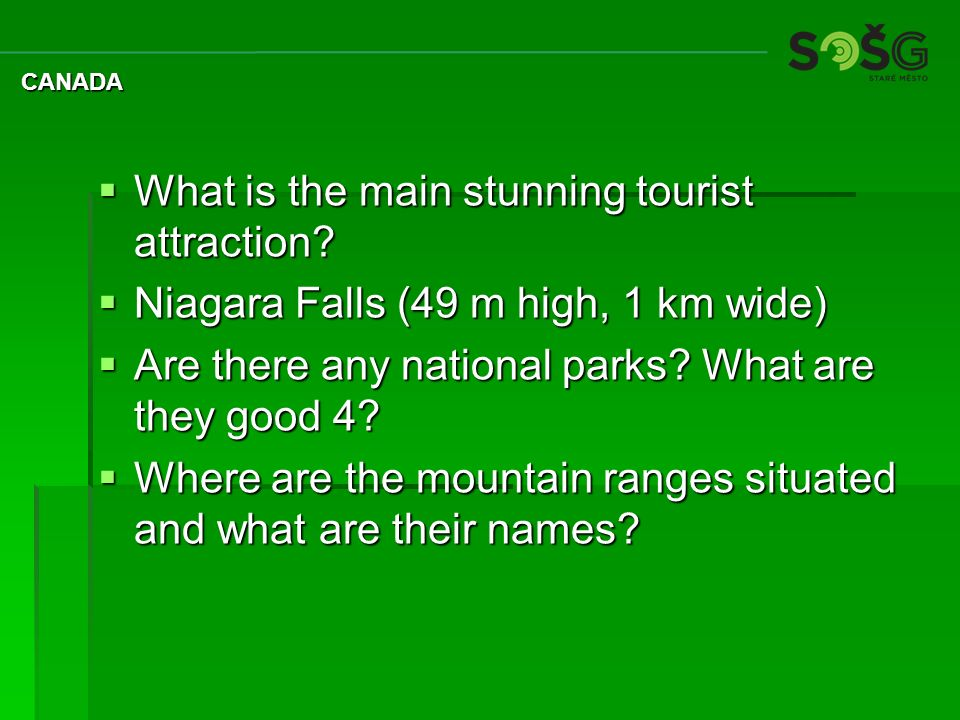 What is the main stunning tourist attraction.