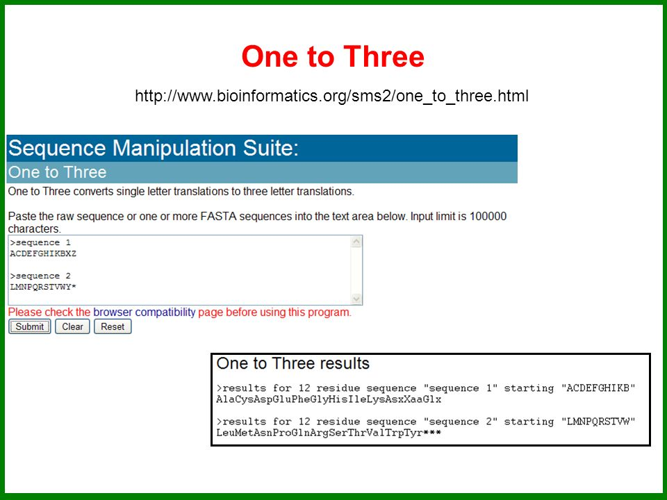 One to Three http://www.bioinformatics.org/sms2/one_to_three.html