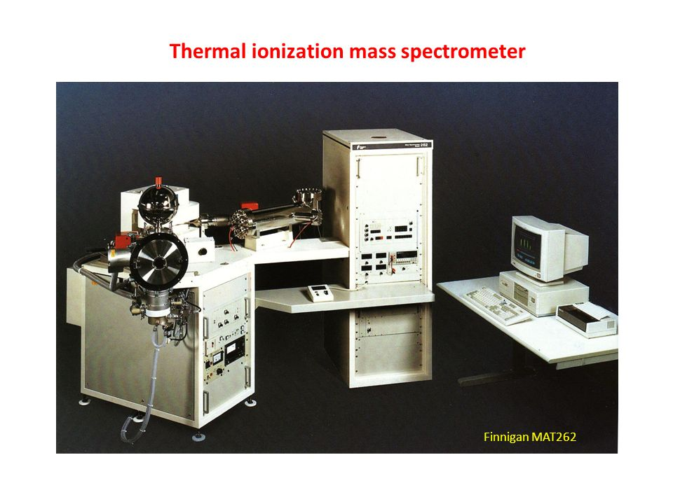 Thermal ionization mass spectrometer Finnigan MAT262