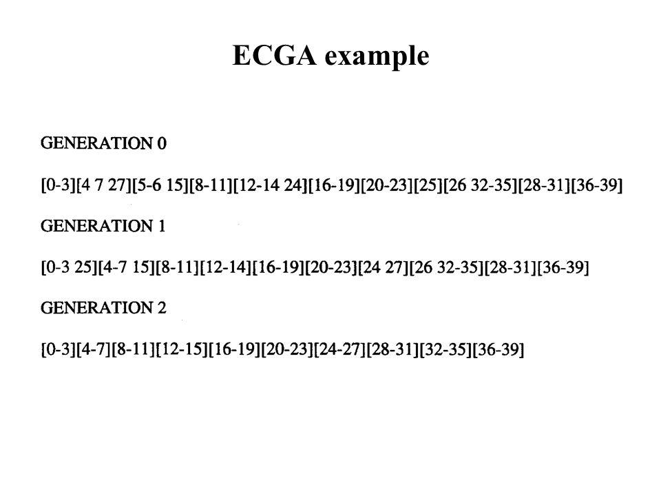 ECGA example
