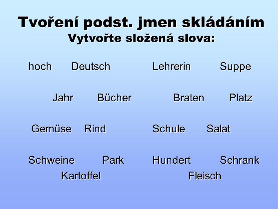 """Infinitiv s """"zu"""" Přeložte věty – řešení: a)Es ist wichtig, die Fremdsprachen zu lernen. b)Petr hat heute Zeit, Fuβball zu spielen. c)Wir können Messe"""