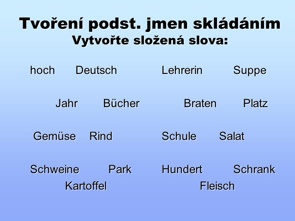 "Infinitiv s ""zu Přeložte věty – řešení: a)Es ist wichtig, die Fremdsprachen zu lernen."