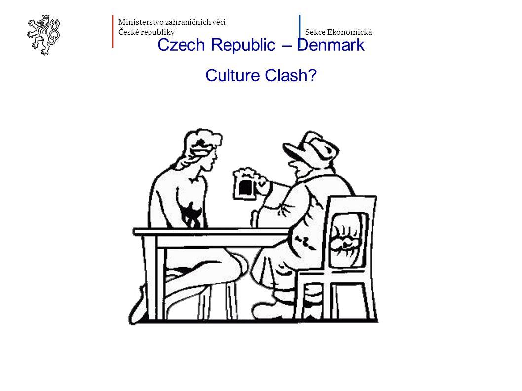 Ministerstvo zahraničních věcí České republiky Sekce Ekonomická Czech Republic – Denmark Culture Clash